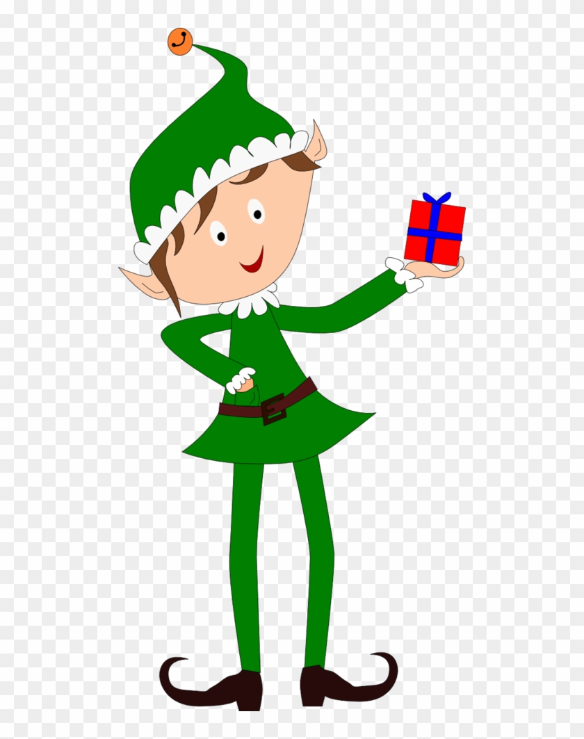 Secretsanta - Transparent Christmas Elf Art - Free Transparent PNG ...