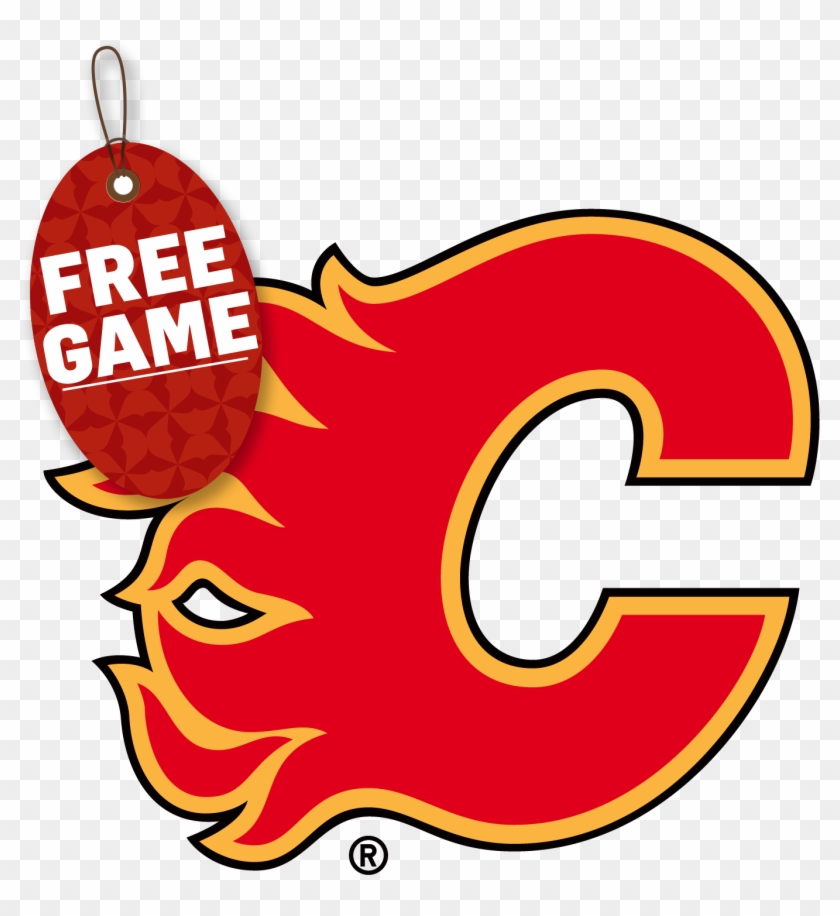 3-game Holiday Pack - Calgary Flames Logo Png #147674