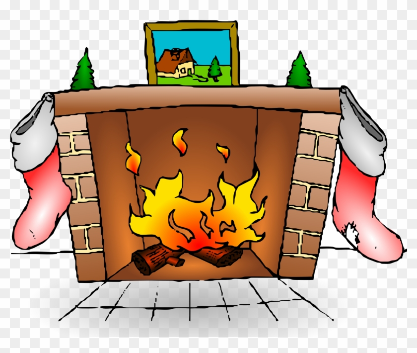 Animated - Fire Place Clip Art #147797
