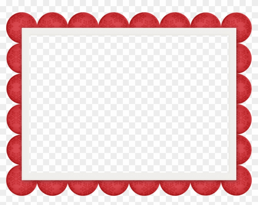 Alena1984 «jss Heavenly Scalloped Frame Red » На Яндекс - Frame Png Red #147841