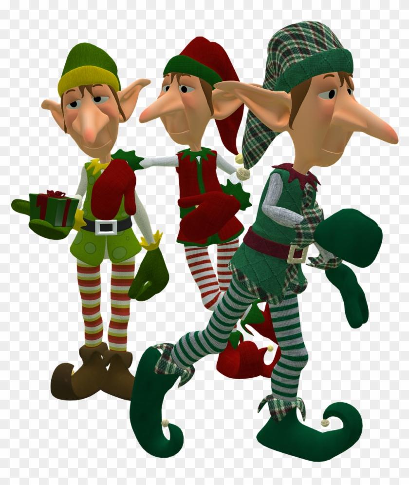 Christmas Elves - Christmas Elf Transparent Background #147863