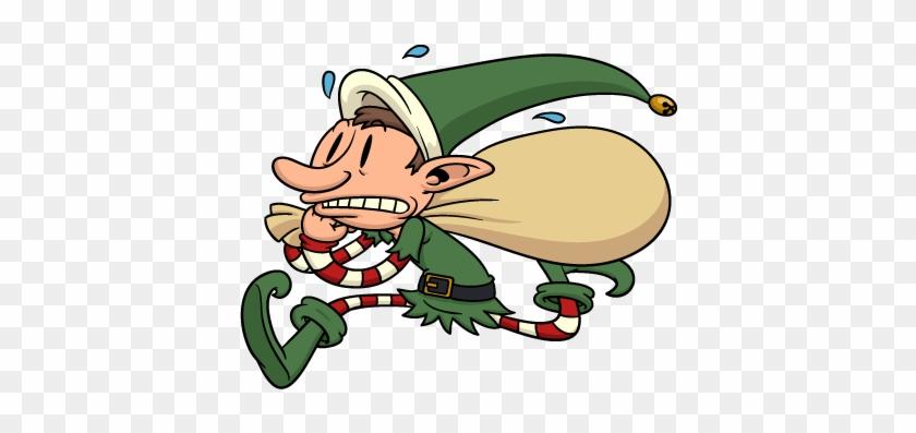 Christmas Elves Messages Sticker-3 - Christmas Elf #147883
