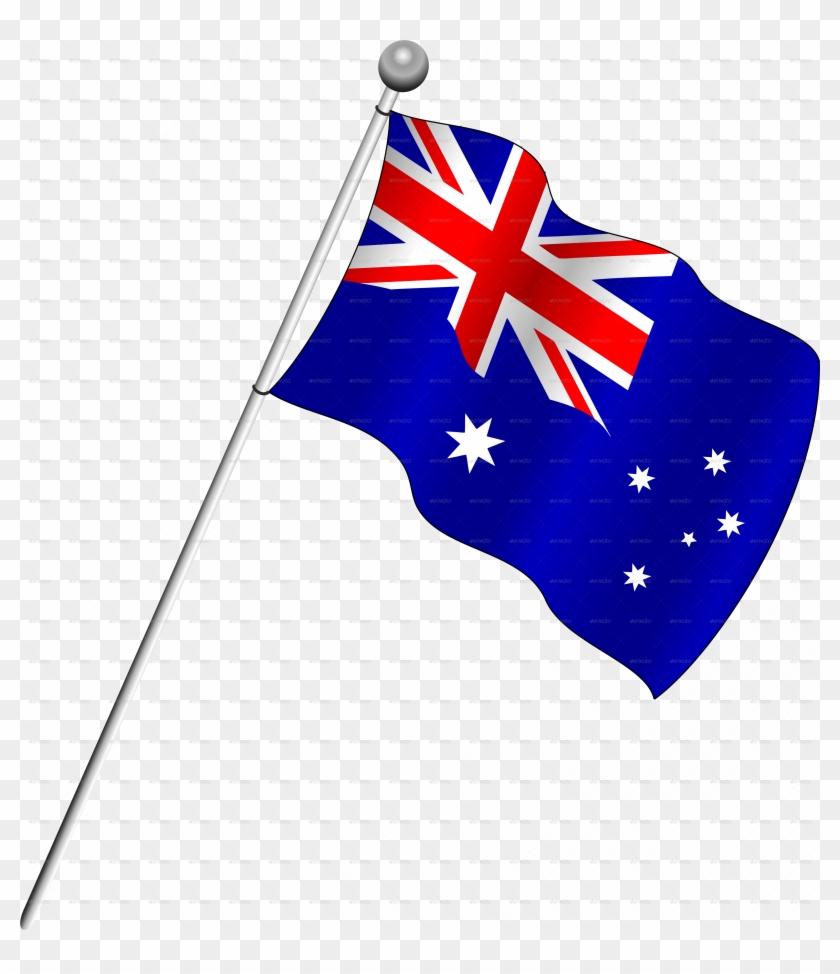 Australia Flag Png Transparent Images - Flag Of Australia Png #148118