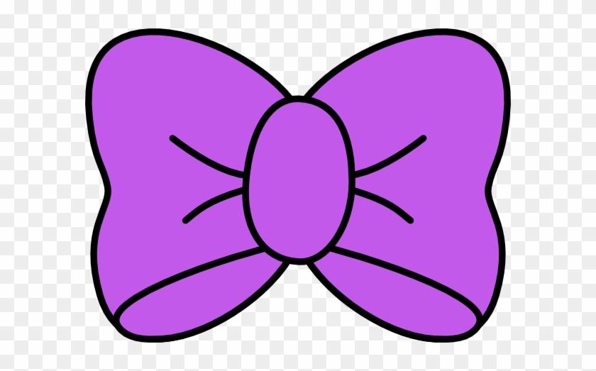 Purple Bow Clip Art At Vector Clip Art - Hair Bow Svg File #148166