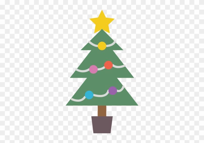 Christmas, Christmas, Tree, Seedling, Xmas Icon, Xmas - Noel Baba Cam Süsü #148334
