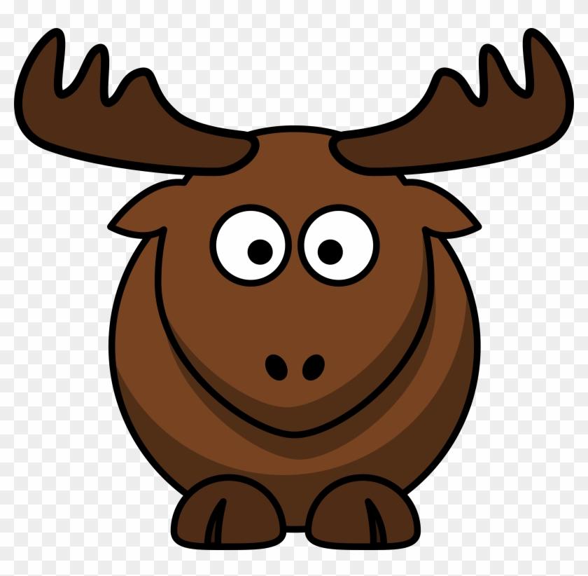 Elk Clipart - Cartoon Elk #148404