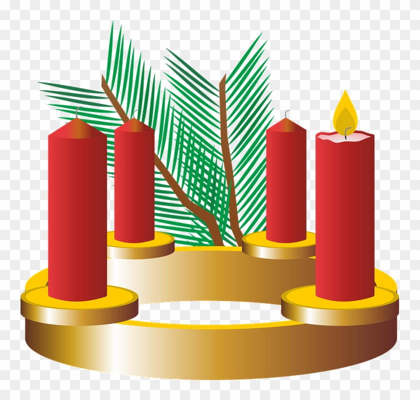First Advent Advent Wreath Advent Christmas Time - 1 Advent Png #148418