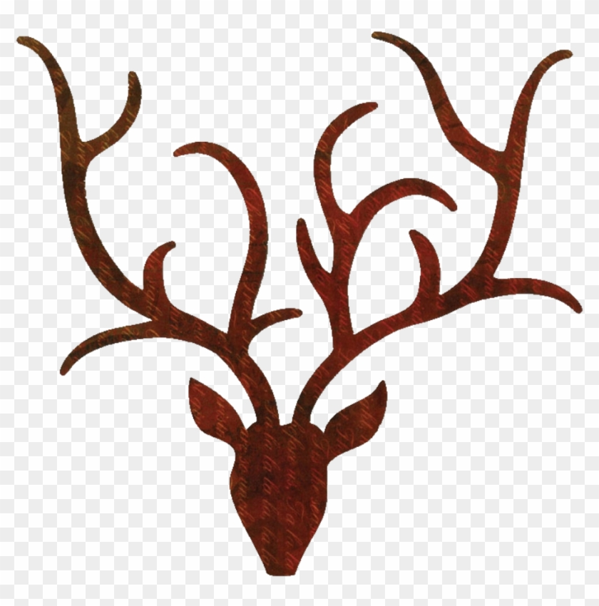 reindeer clipart outline antlers pillow by face to face designs