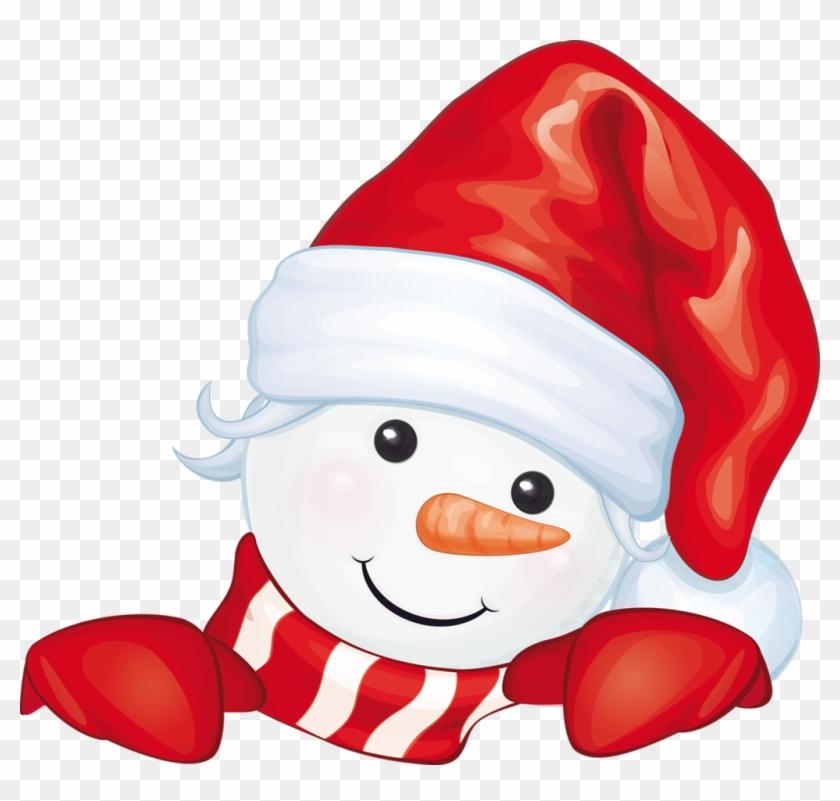 Bonhomme de neige snowman hiding free transparent png clipart images download - Clipart bonhomme de neige ...