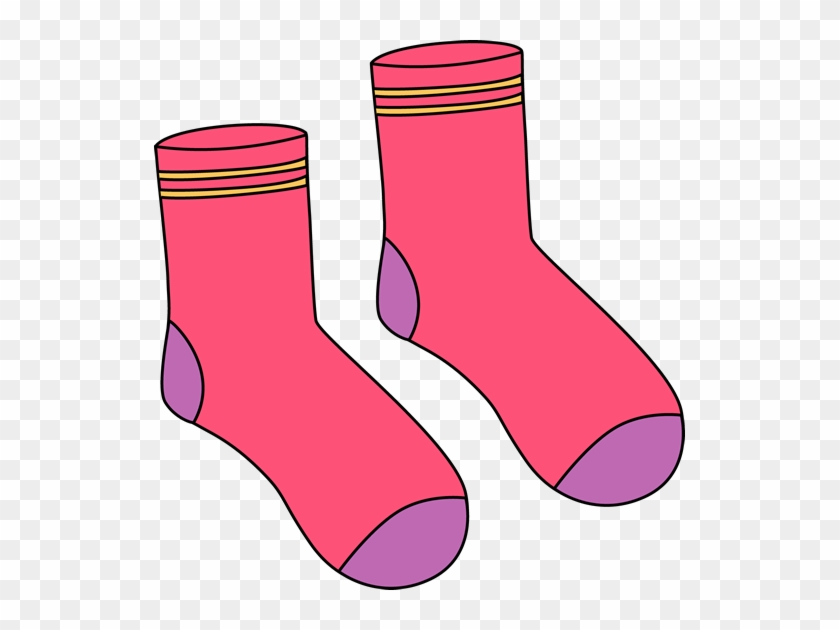Clipart Info - Cartoon Pair Of Socks #148679
