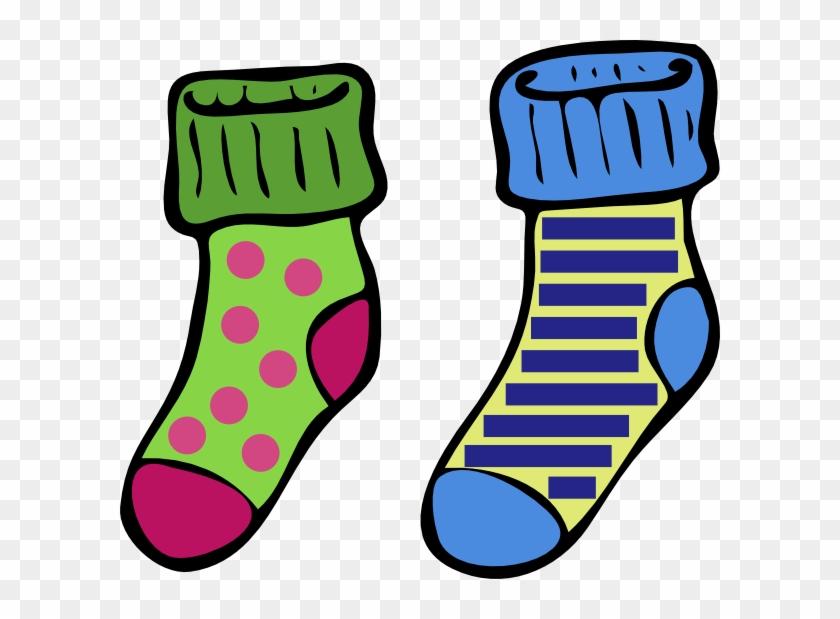 Sock Slipper Free Content Clip Art - Socks Clip Art #148688