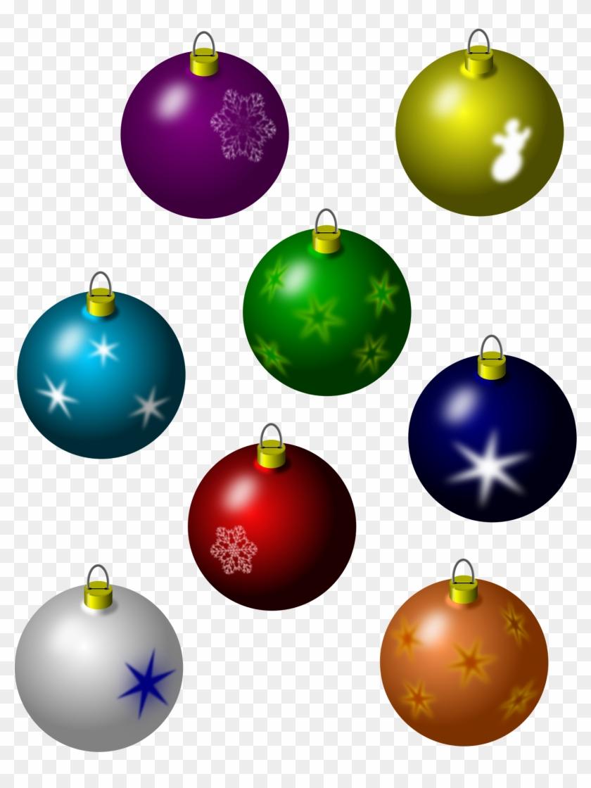 Big Image - Christmas Decorations Vector Green #148778