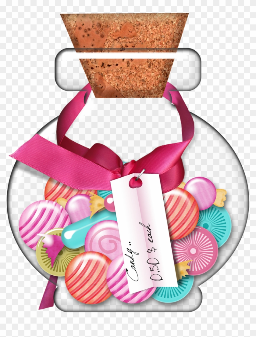 Candy Clipartfood - Candy In A Jar Clip Art #148797
