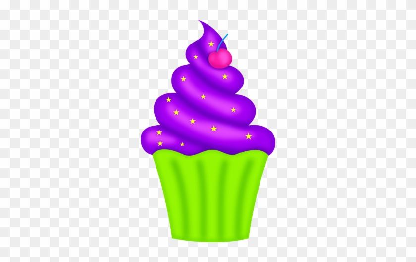 Cupcake Clip Art - Purple Cupcakeclipart #148804