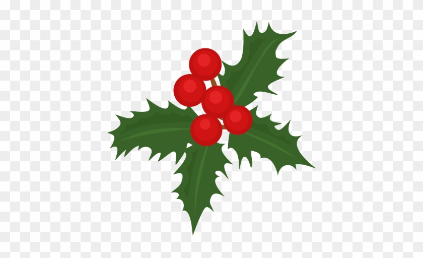 Christmas Holly Silhouette.Holly Christmas Silhouettes Clip Art Clip Art Free