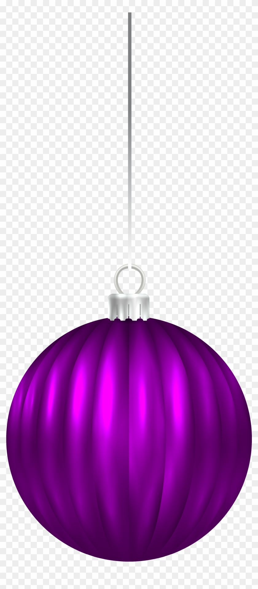 Purple Christmas Ball Ornament Png Clip Art Image - Purple Christmas Ornament Png #148975