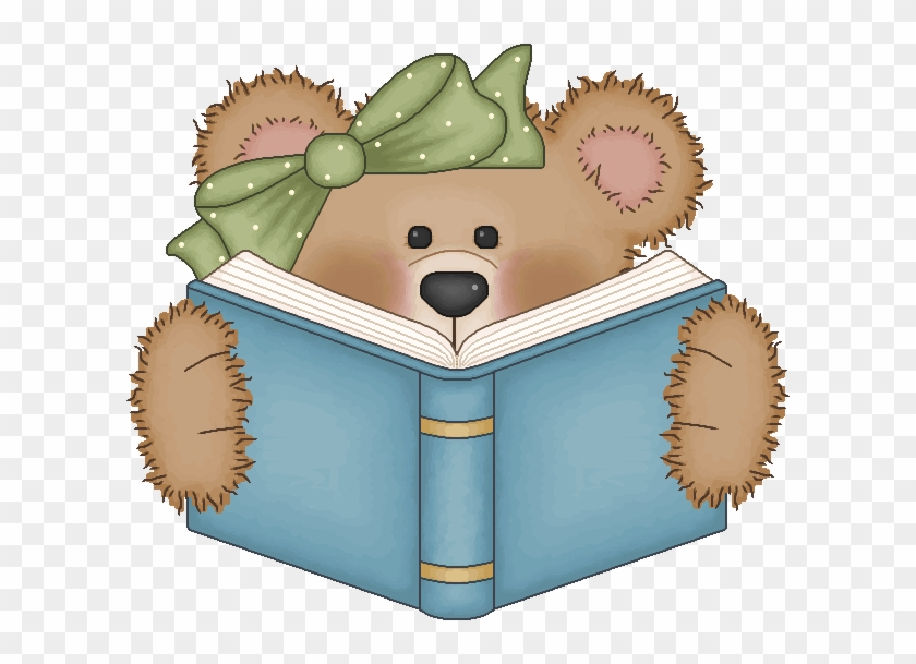 christmas reading books clipart bear reading a book clipart free