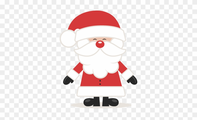 Cute Santa Svg Scrapbook Cut File Cute Clipart Files Cute Father Christmas Free Transparent Png Clipart Images Download