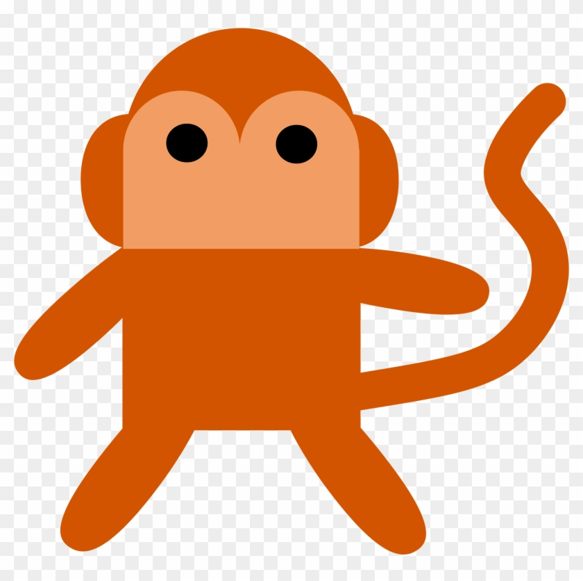 Stuffed Animal Clipart Christmas - Monkey Clip Art #149103