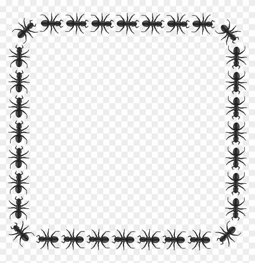 Holiday Clip Art Border - Ant Border #149204