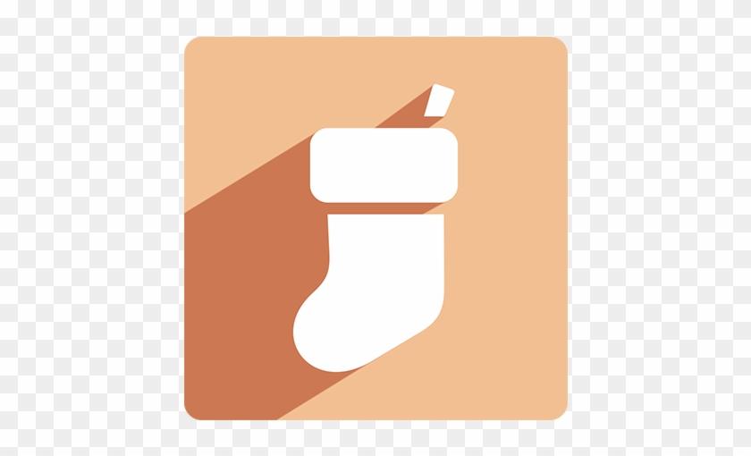 Christmas Sock Icon - Hosiery #149327