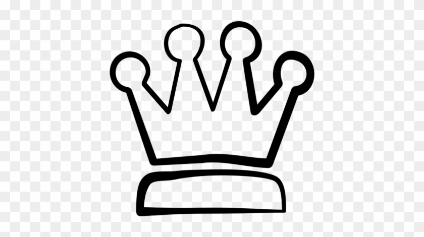 Crown Black And White Clipart - Crown Clipart #149559