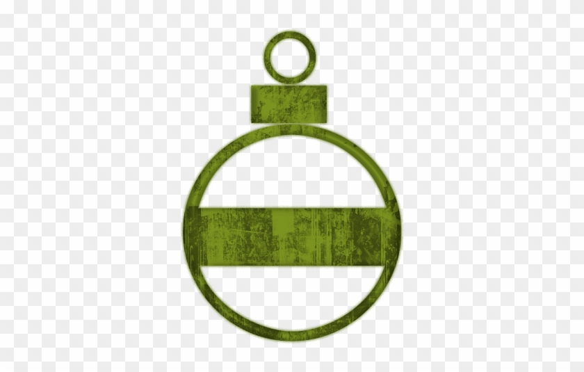Simple Christmas Cliparts - Christmas Icon With Green #149560