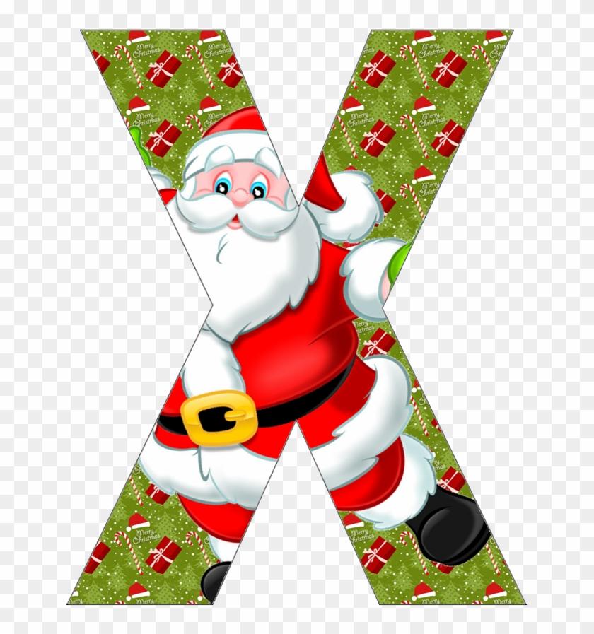 Free alphabet printables with christmas christmas themed - Alphabet noel ...