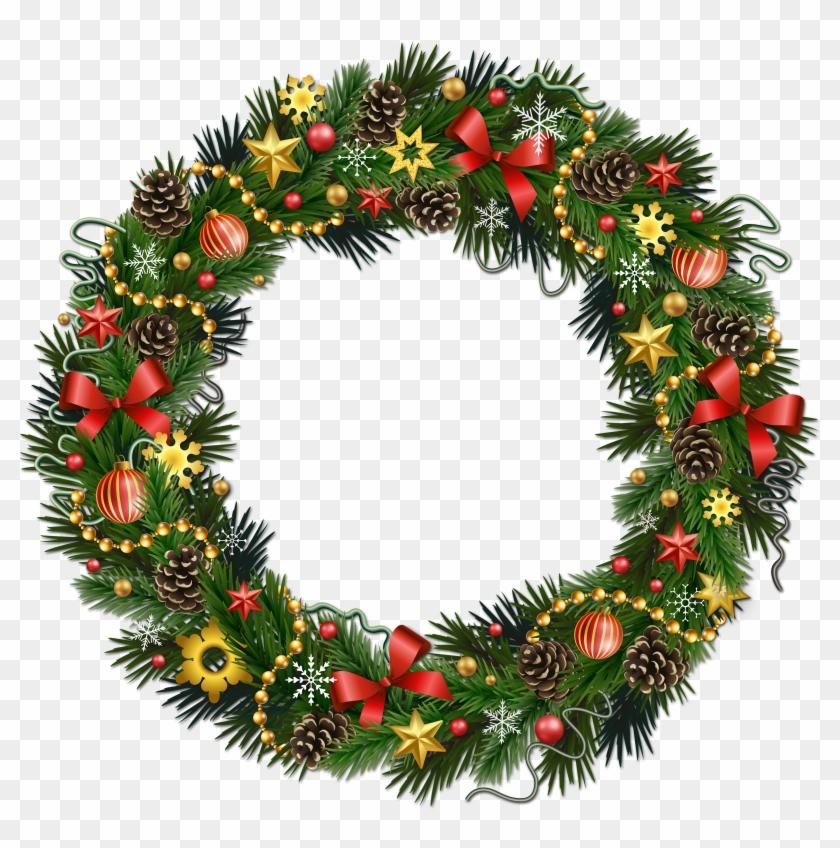 Christmas Wreath Transparent Background #149611