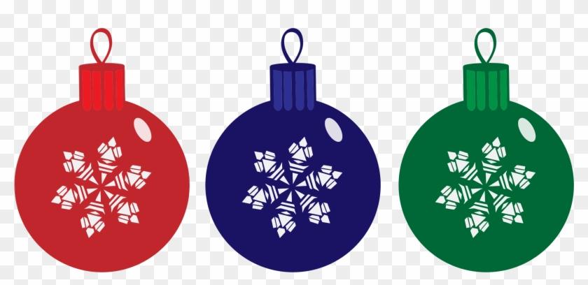 Ornamental Clipart Home Decor - Christmas Baubles Clipart #149667