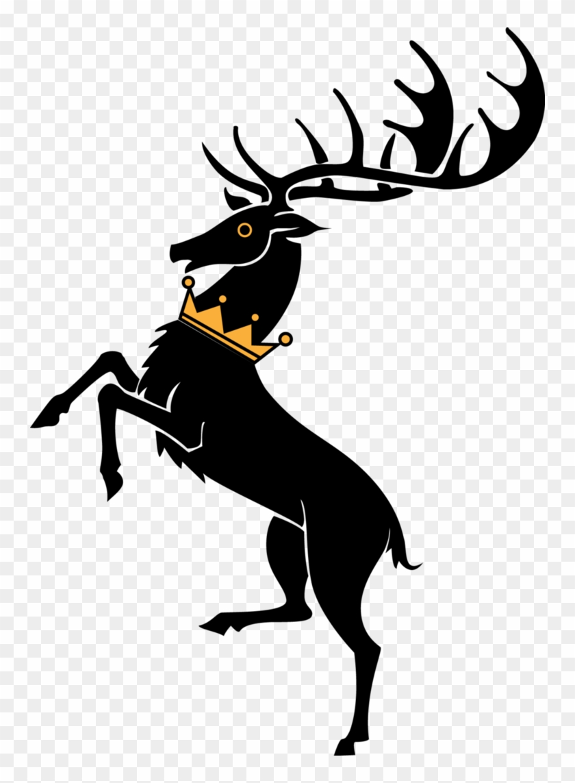 Reindeer Clipart Silhouette - Game Of Thrones Houses #149740