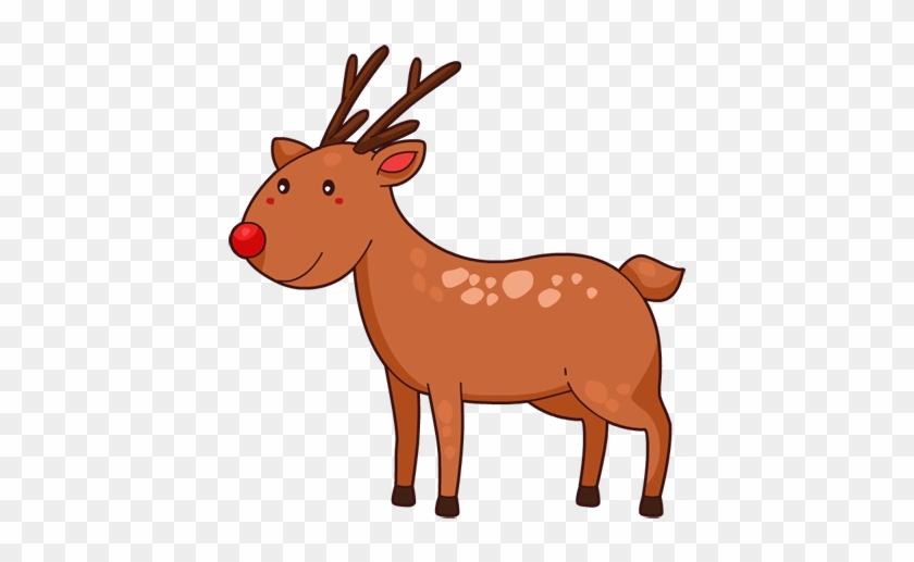 Free Red Nosed Reindeer Clip Art - Clipartlord #149741