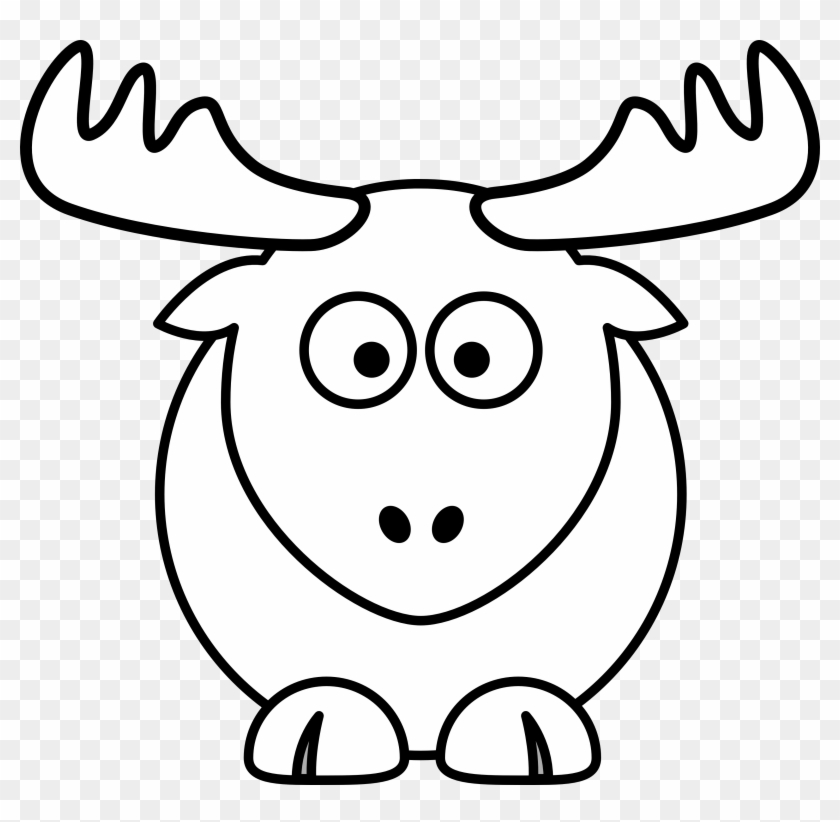 reindeer clipart black and white reindeer head santa cartoon coloring pages