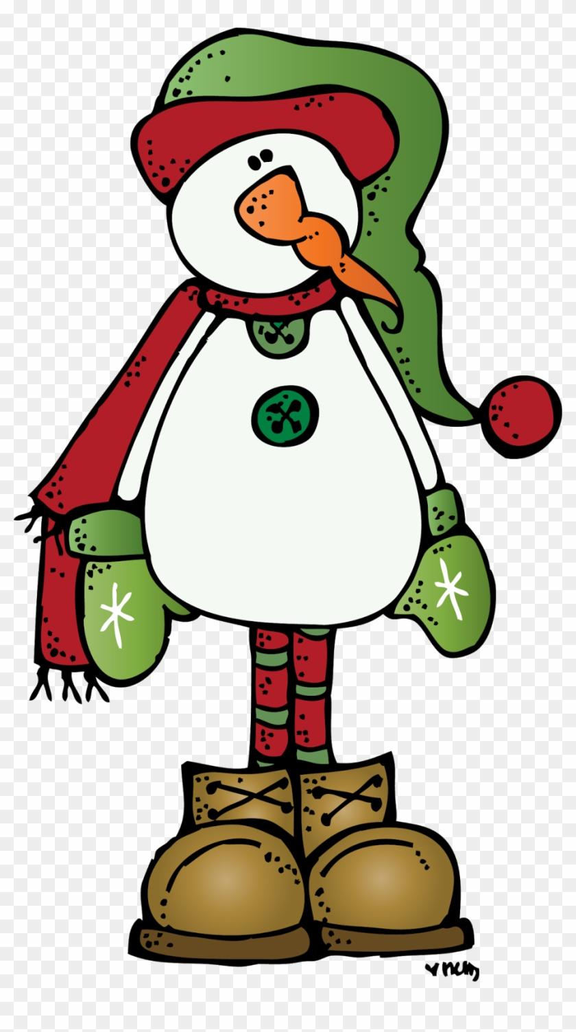 Snowman More - Melonheadz Christmas Clipart #149909
