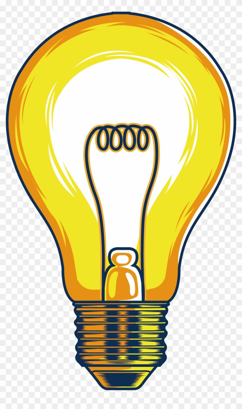 Incandescent Light Bulb Lamp Clip Art - Incandescent Light Bulb Lamp Clip Art #149951