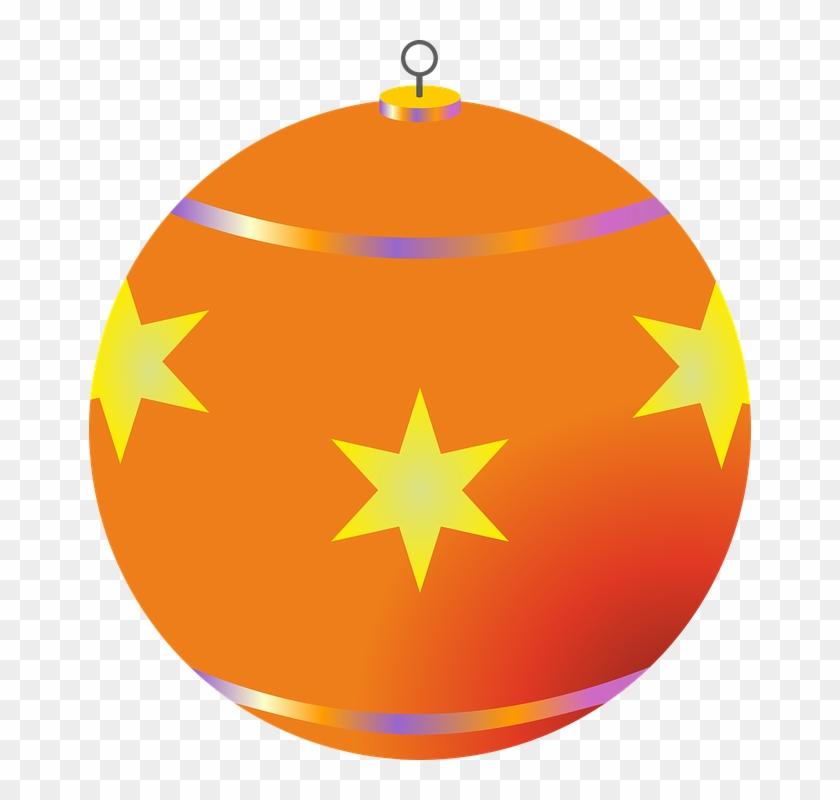 Ball Christmas Bauble Christmas Decorations - Adornos Navideños Png Vector #149942
