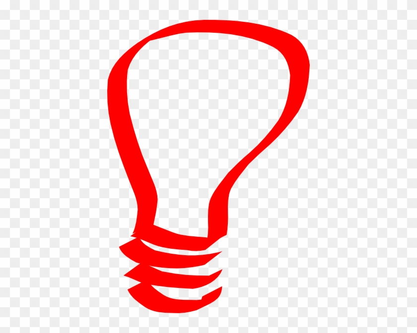 Red Bulb Clip Art - Autism Awareness Month 2015 #149965