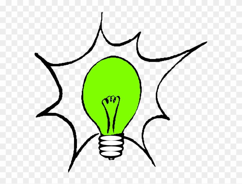 Green Light Bulb Clip Art At Clker - Light Bulb Clip Art #149984