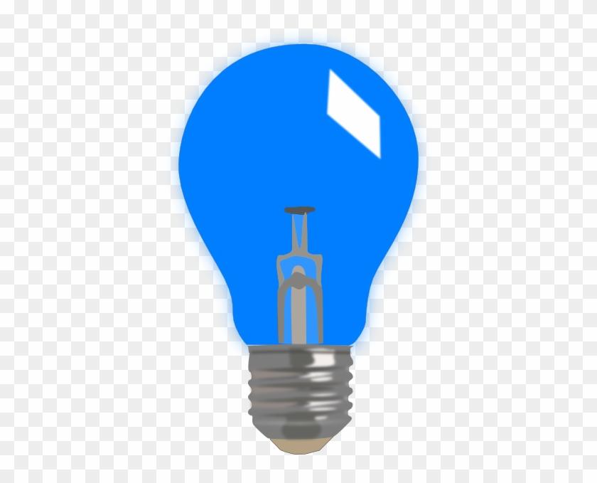 Blue Light Bulb Clipart - Blue Light Bulb Clip Art #150056