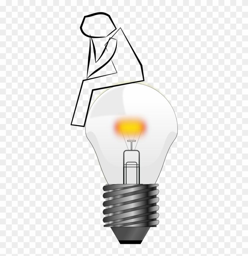 Incandescent Light Bulb Animation Lamp Clip Art - Lightbulb Animation #150109