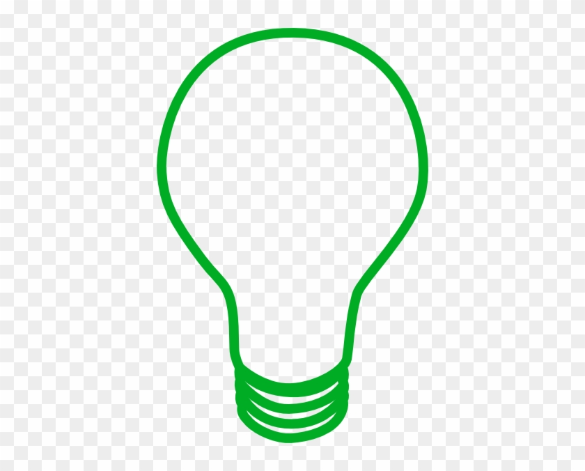 Green Lightbulb Clip Art - Light Bulb Green Png #150117