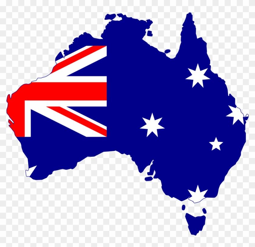Flag Silhouette Australia - Australia Flag On Country #150214