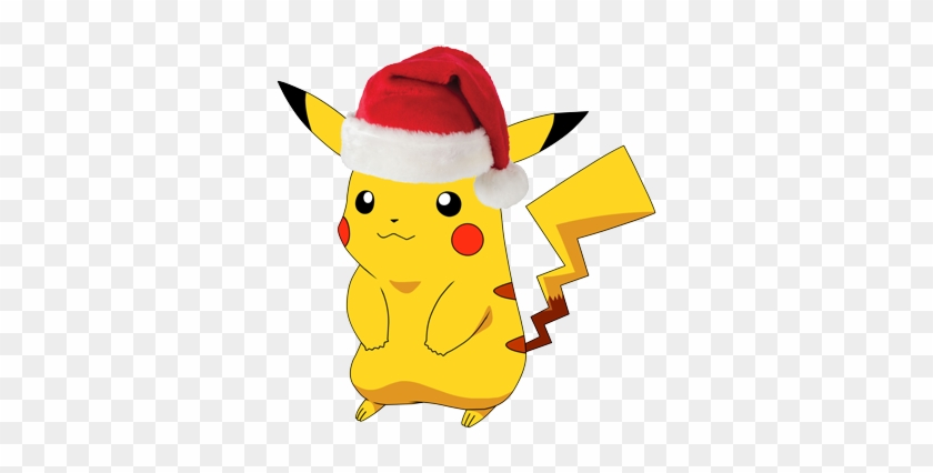 The Pokémon Players Who Want To Save Christmas - Pokemon With Christmas Hat #150218