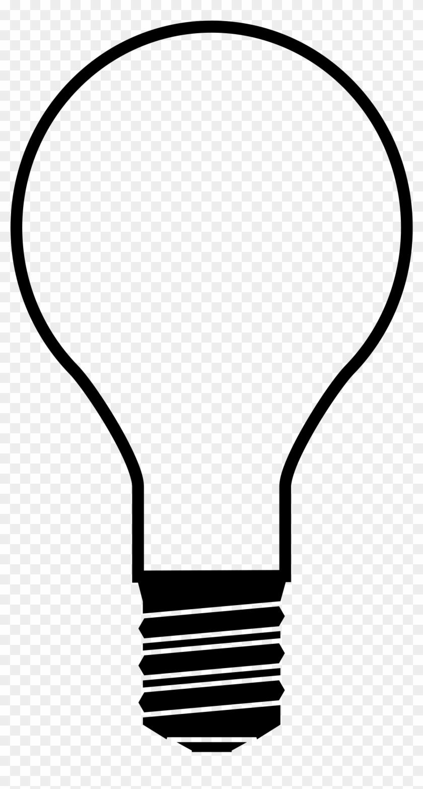 Light Bulb Lightbulb Clipart Free Images Clipartbold - Light Bulb Silhouette #150403