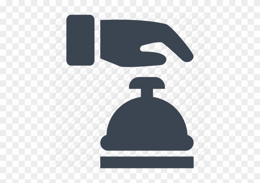 15 Desk Service Bell Icon Images Desk Bell Clip Art - Bell Ring Hotel Icon #150570