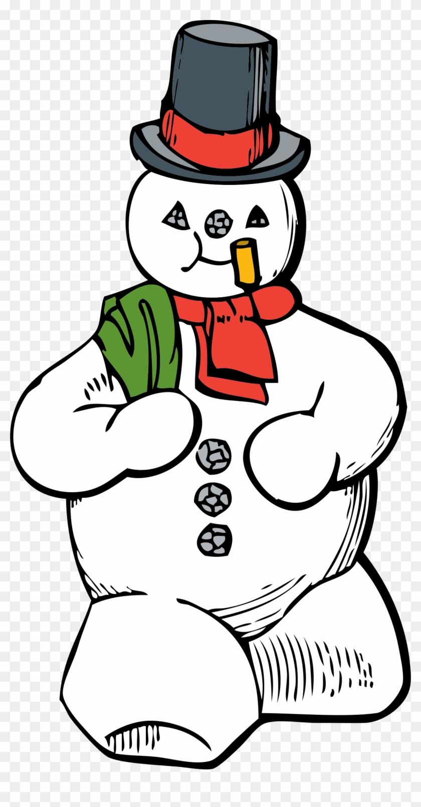 Snowman - Snowman Clip Art #150592