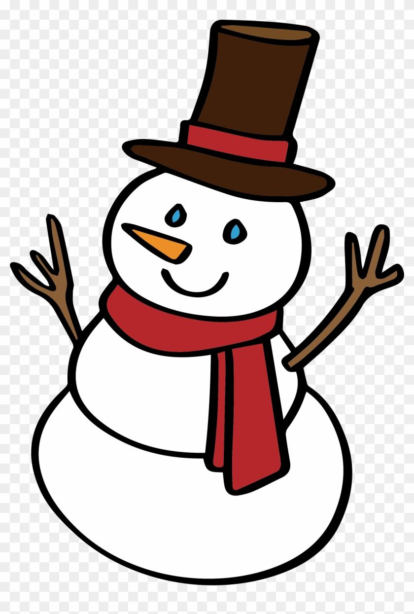 Snowman Clip Art - Snowman Clip Art #150613