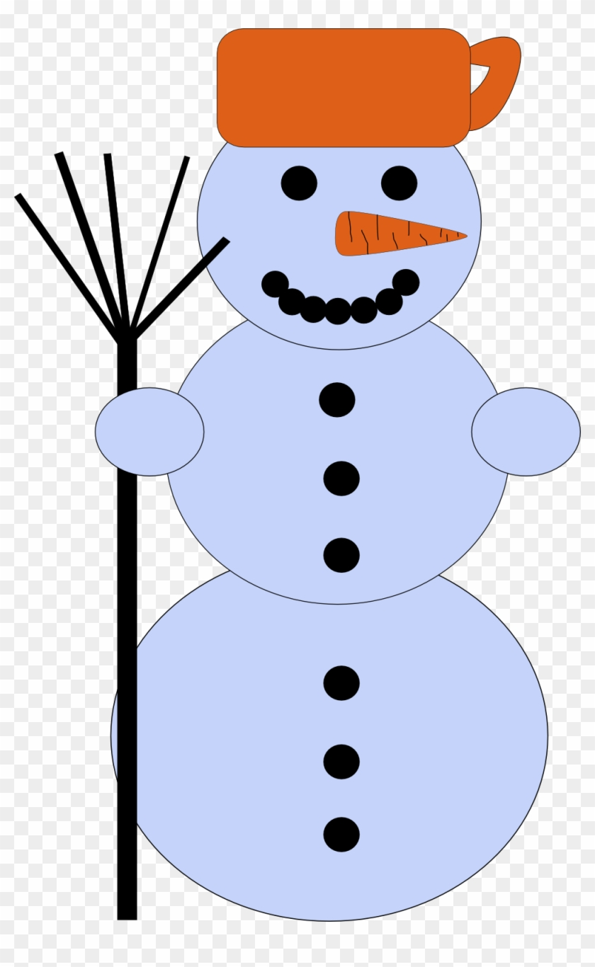 Free Snowman - Snowman Clip Art #150654