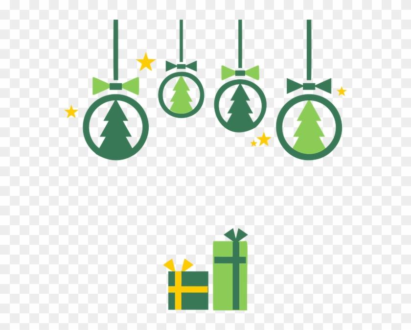 Public Domain, Christmas Decorations, Clip Art, Diy - Christmas Decoration Clipart #150747