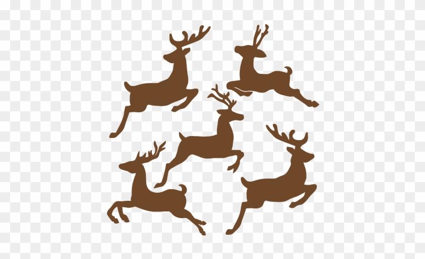 Reindeer Clipart Reindeer Flying - First Edition Dies Christmas #150873